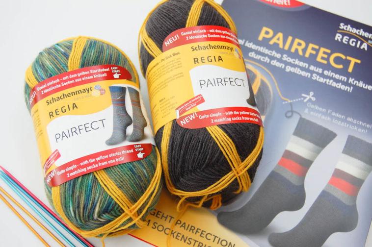 regia pairfect Mit Schachenmayr REGIA PAIRFECT identische Socken stricken