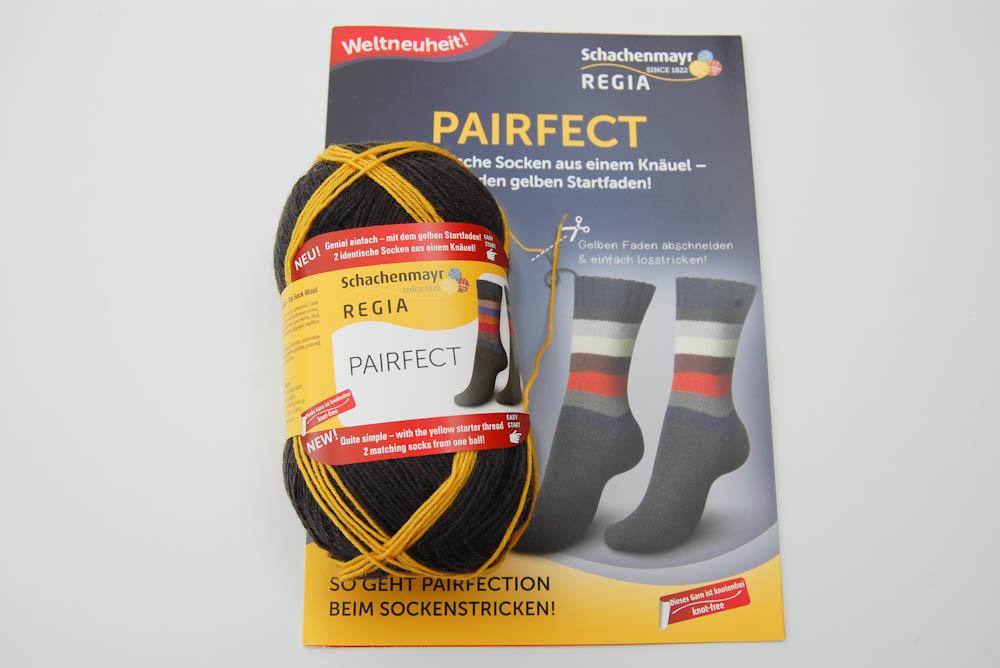 Identische Socken stricken mit REGIA PERFECT von Schachenmayr regia pairfect Mit Schachenmayr REGIA PAIRFECT identische Socken stricken
