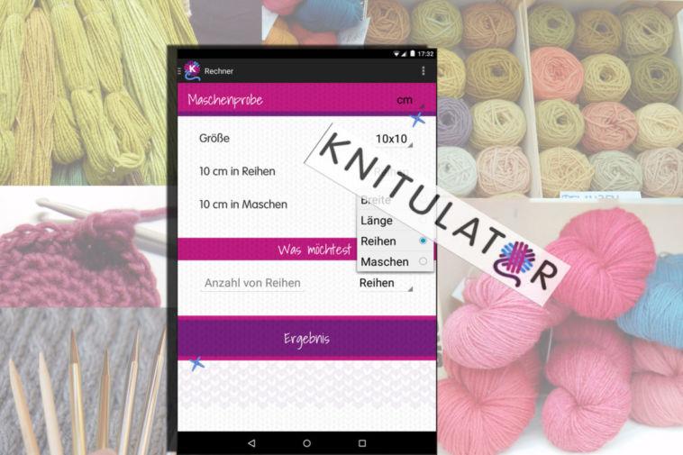 knitulator Knitulator – die App zum Stricken und Häkeln