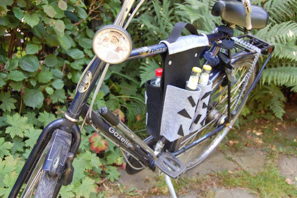 Nähanleitung Fahrradtasche