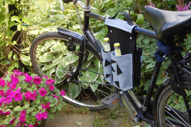 Nähanleitung fahrradtasche Nähanleitung Fahrradtasche für 4 Flaschen