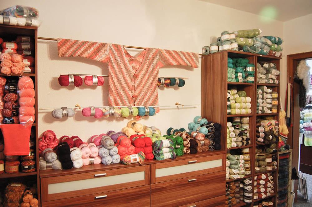 Casa di Lana - Handarbeitsgeschäft Anita Plechninger Viermuenden-2 Casa di Lana – Haus der Wolle in Frankenberg-Viermünden