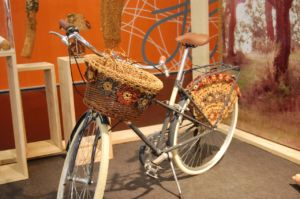Pimp your bike - Fahrrad aus Korkgarn
