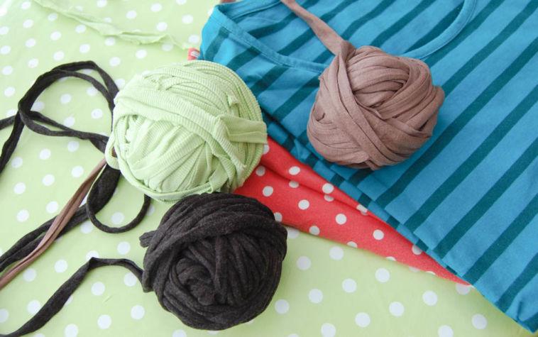 textilgarn selber herstellen Anleitung: Textilgarn selber machen