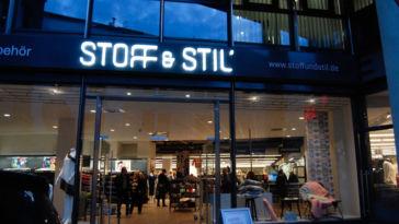 Geschäftseröffnung: STOFF & STIL in Köln