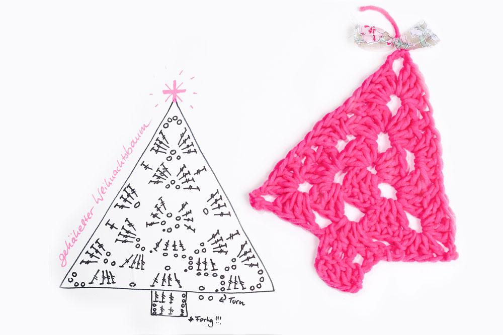 Weihnachtsdeko selber machen – Weihnachtsbaum häkeln weihnachtsdeko selber machen 10 geniale Anleitungen: Weihnachtsdeko selber machen