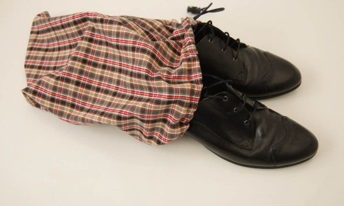 Geschenke Schuhsack Geschenk selber machen, stricken, nähen oder häkeln – mit Anleitung