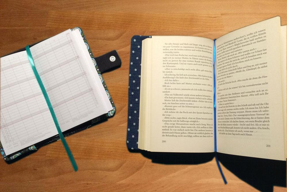 Anleitung – Schutzhülle für Bücher nähen | sockshype