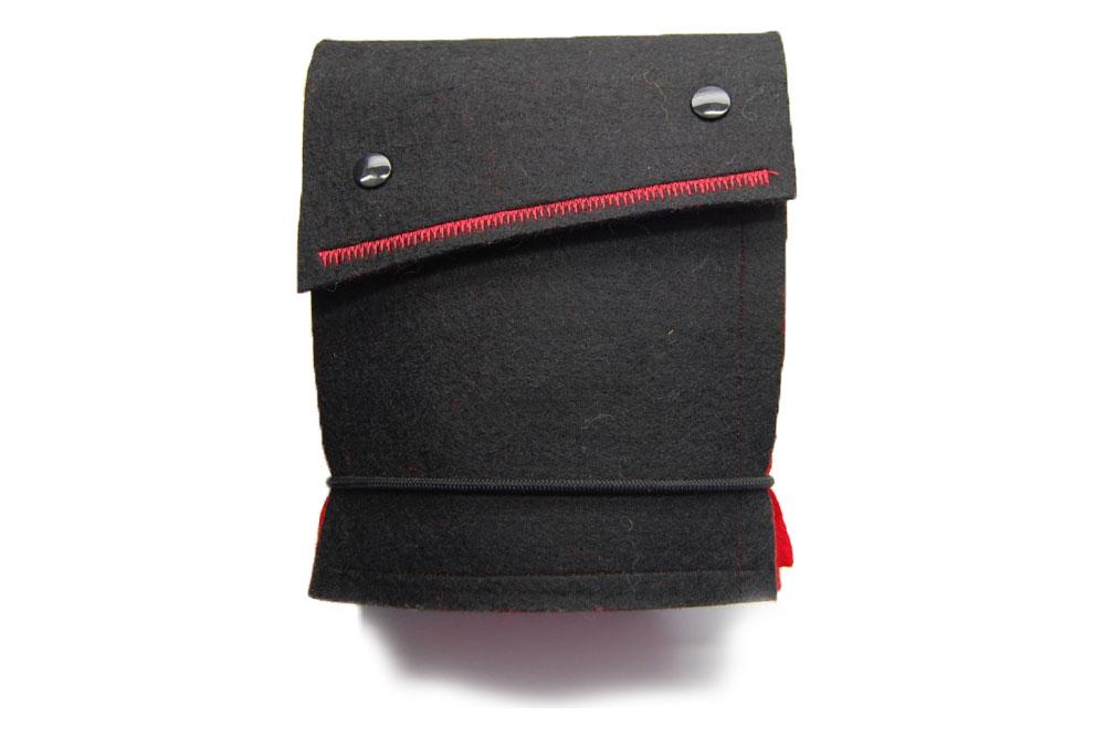 sockshype - Anleitung: Tasche für Rundstricknadeln nähen