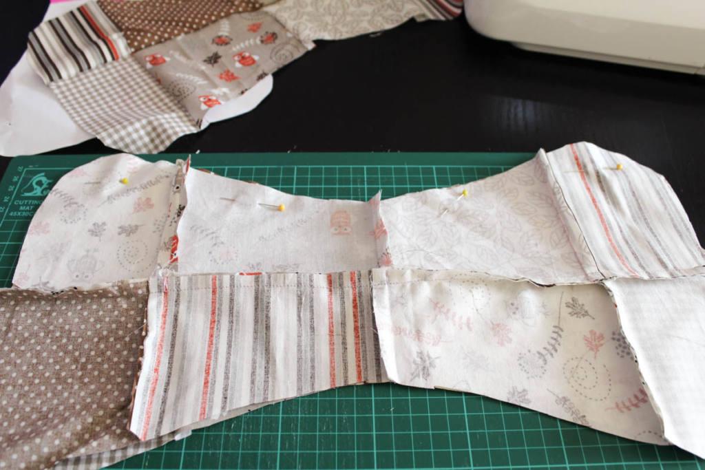 patchwork-Stoff selber nähen