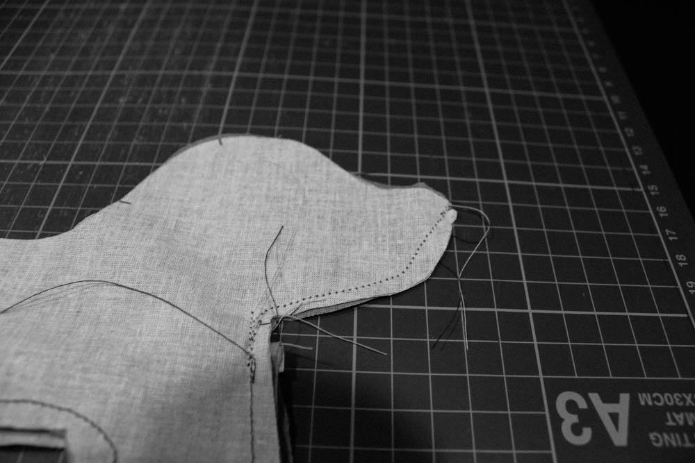 Einfache Anleitung: Hund nähen | sockshype