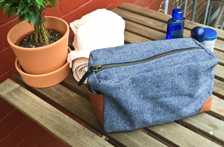 Männerwaschtasche von Ann-Sophie Lömer männerwaschtasche Gastbeitrag: Eine stylische Männerwaschtasche genäht von Ann-Sophie Lömker