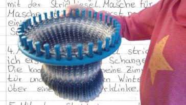 Kinder stricken – Die zehnjährige Martha kann es!