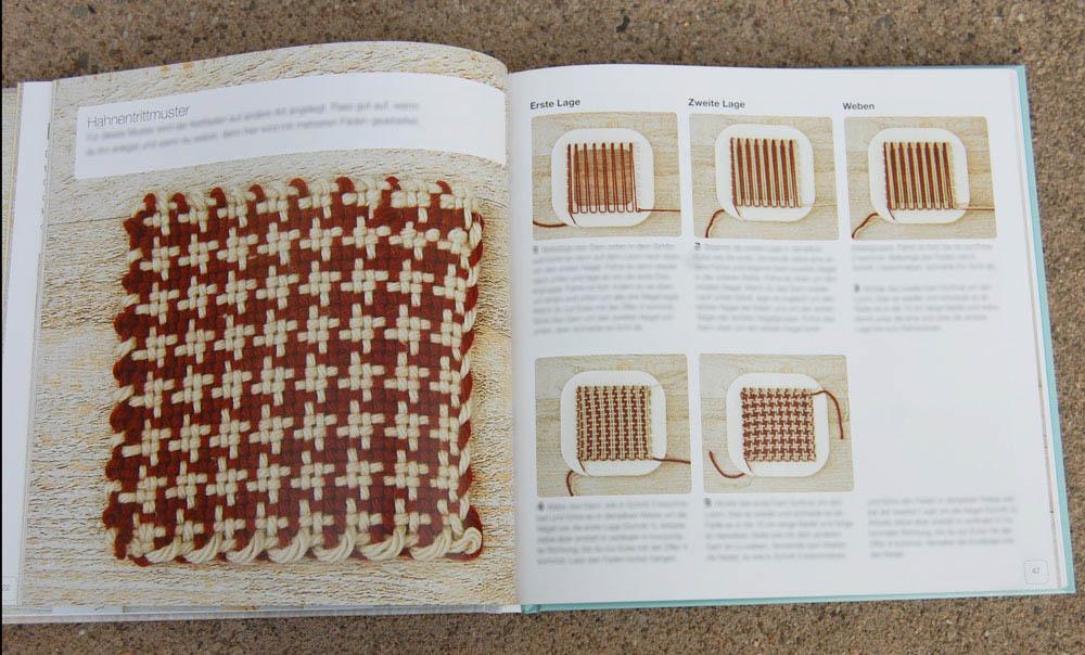 Minis weben mit dem Pin Loom - Muster Buchbesprechung: Minis Weben mit dem Pin Loom von Florencia Campos Correa