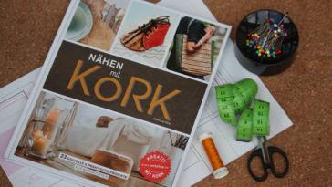Nähen mit Kork - Titelbild Buchbesprechung: Nähen mit Kork von Carmo da Silva