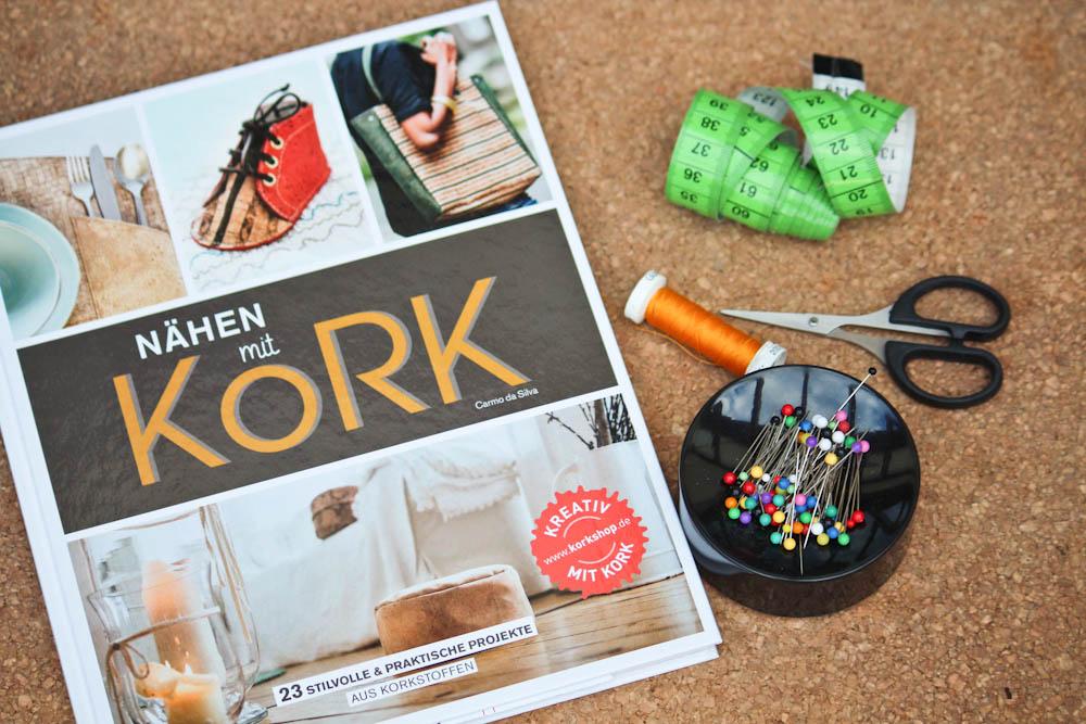 Nähen mit Kork - Verlosung nähen mit kork Verlosung: Zwei Bücher Nähen mit Kork von Carmo da Silva