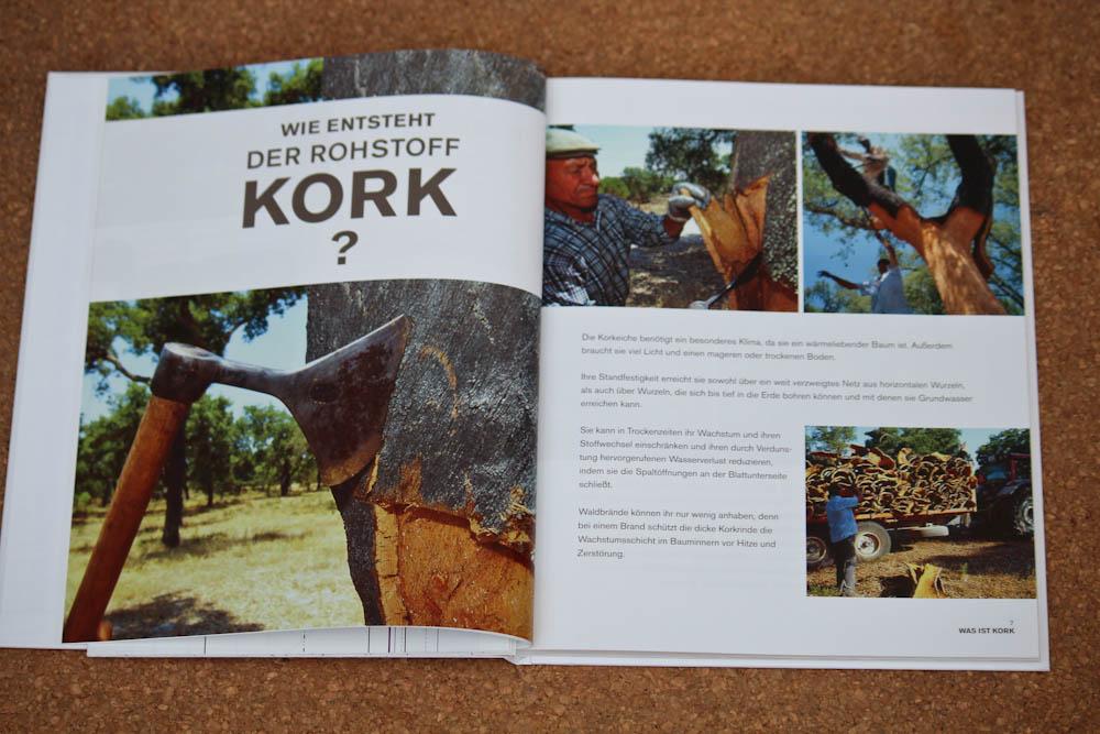 Nähen mit Kork - Wissenswertes über Kork Buchbesprechung: Nähen mit Kork von Carmo da Silva