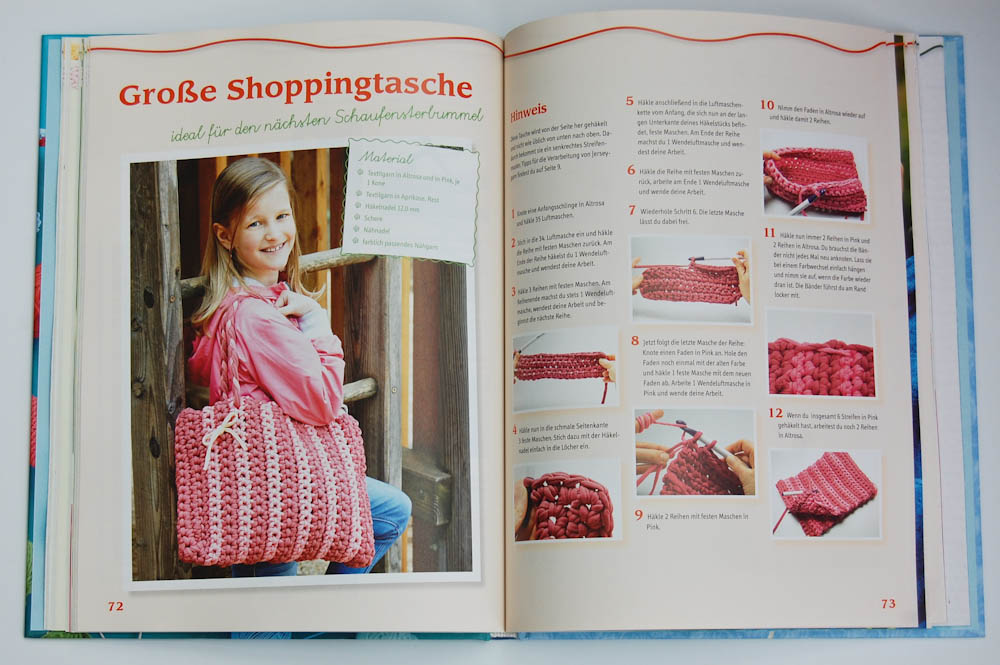 Häkel mit! Neue Ideen aus der Kinderhäkelschule Shoppingtasche häkel mit! Buchbesprechung: Häkel mit! Neue Ideen aus der Kinderhäkelschule