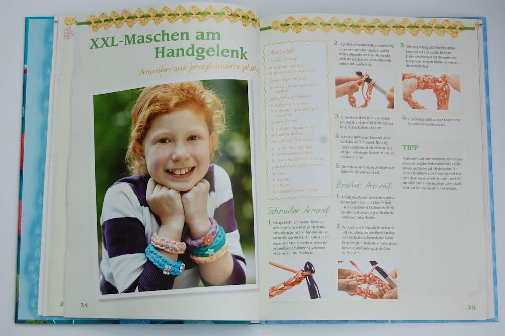 Häkel mit! - Neue Ideen aus der Kinderhäkelschule - Armband häkel mit! Buchbesprechung: Häkel mit! Neue Ideen aus der Kinderhäkelschule