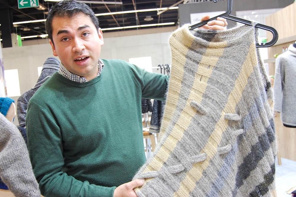 Carlos Lopez - Studio Yarn Gabriele und Carlos Lopez im Interview über ihre Studio Yarn-Handstrickgarne