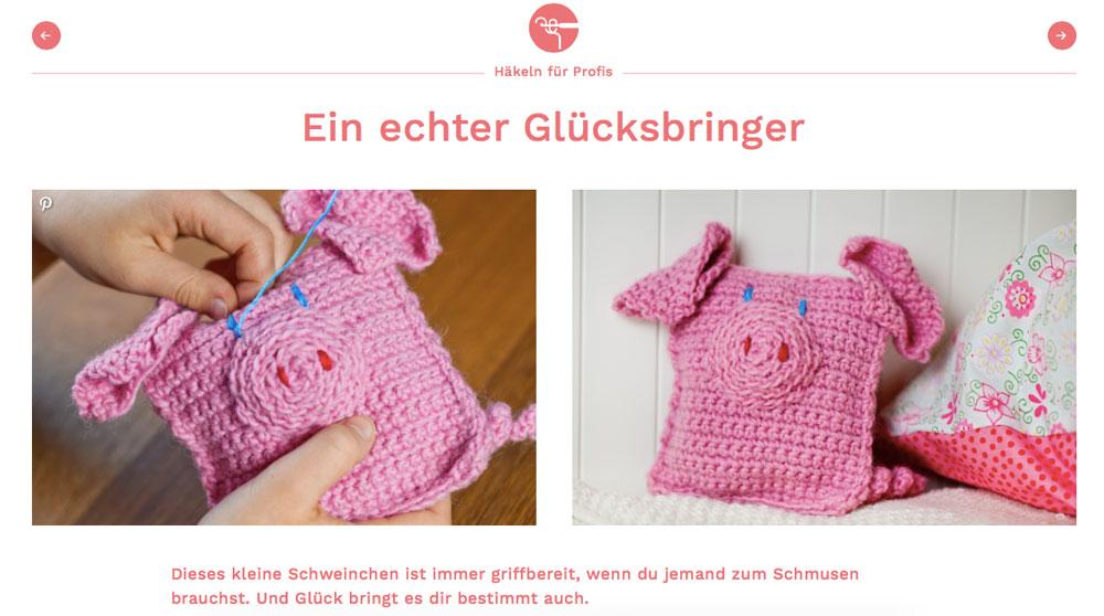 Kinitti - Anleitung - Schweinchen Handarbeiten für Kinder – Kinitti.de