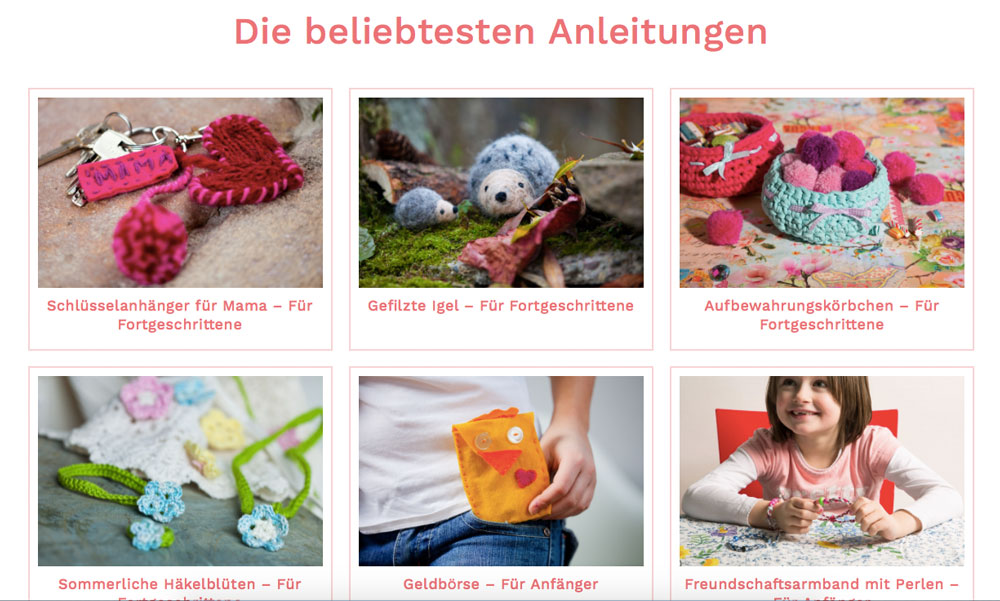 Handarbeiten für Kinder – Kinitti.de