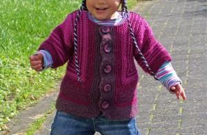 Stricken für Kinder – Baby Surprise Kinderjacke stricken