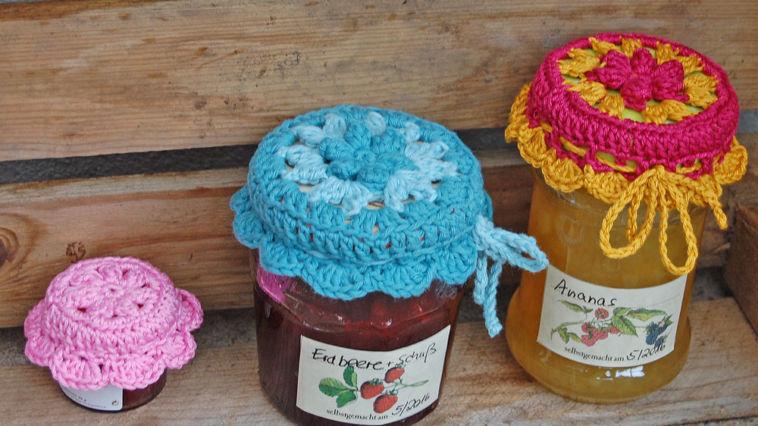 Deckchen Für Marmeladenglas Häkeln Sockshype