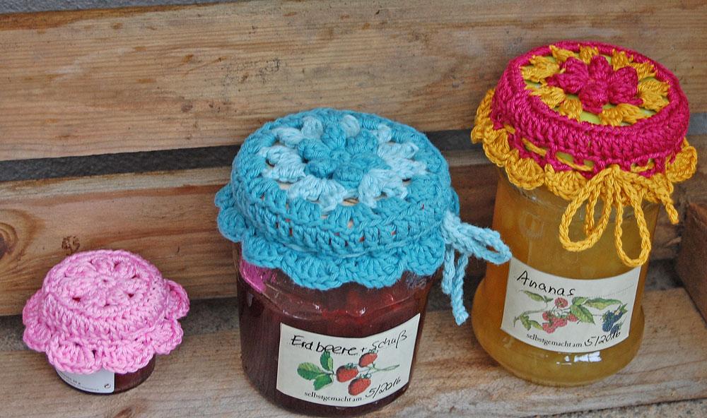 Marmeladenglashäubchen häkeln fadenring häkeln Tipp: Magic Loop oder Fadenring häkeln