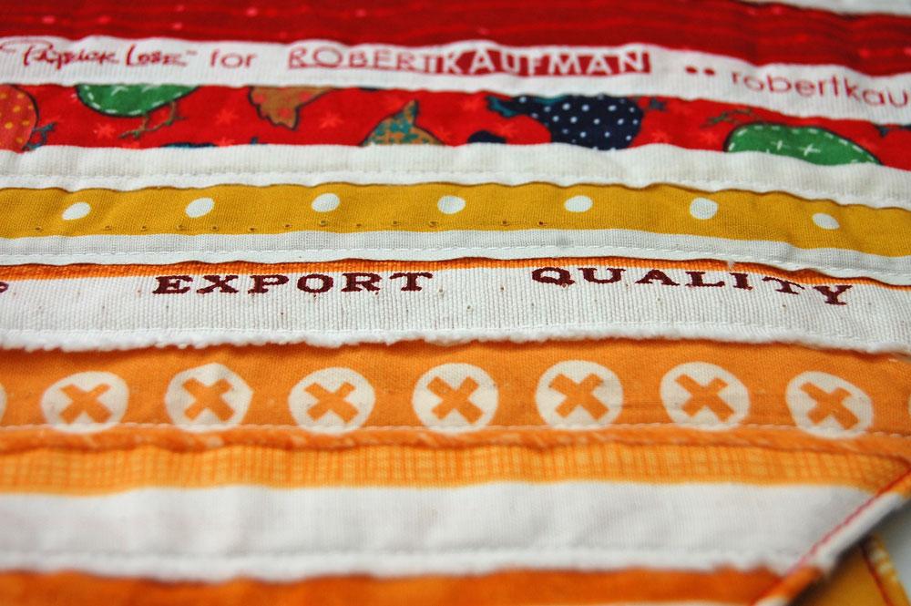 Topflappen aus Webkanten - Export Quality Anleitung: Topflappen aus Webkanten – mit Verlosung