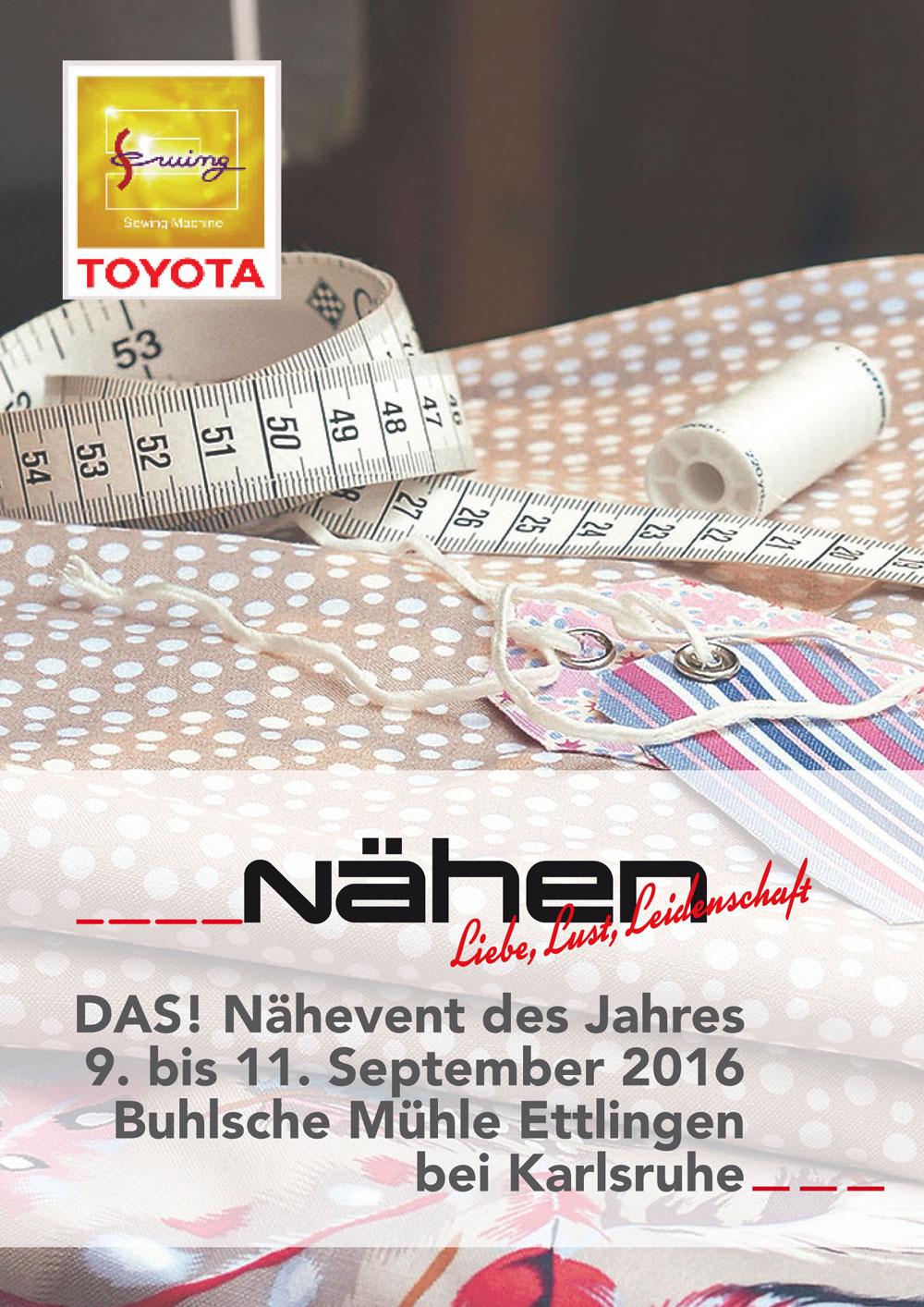 Toyota-Nähevent toyota-nähevent Der TOYOTA-NähEVENT