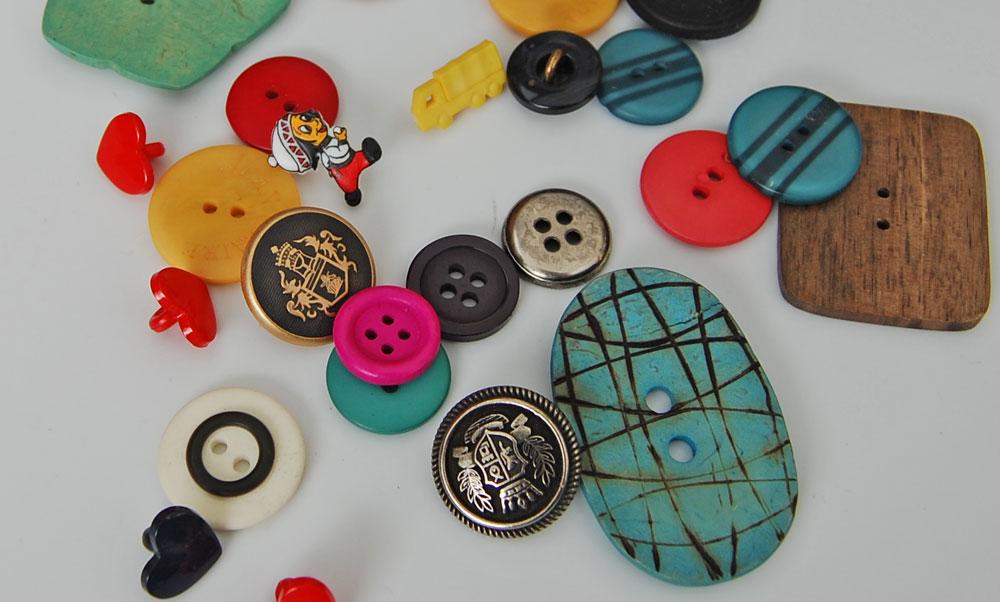 Knopfauswahl knopf Zugeknöpft – Der Knopf, Verschluss und Dekoration