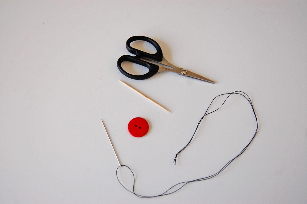 Knopf annähen - Material knopf annähen Zugeknöpft – Knopf annähen – So einfach geht es.