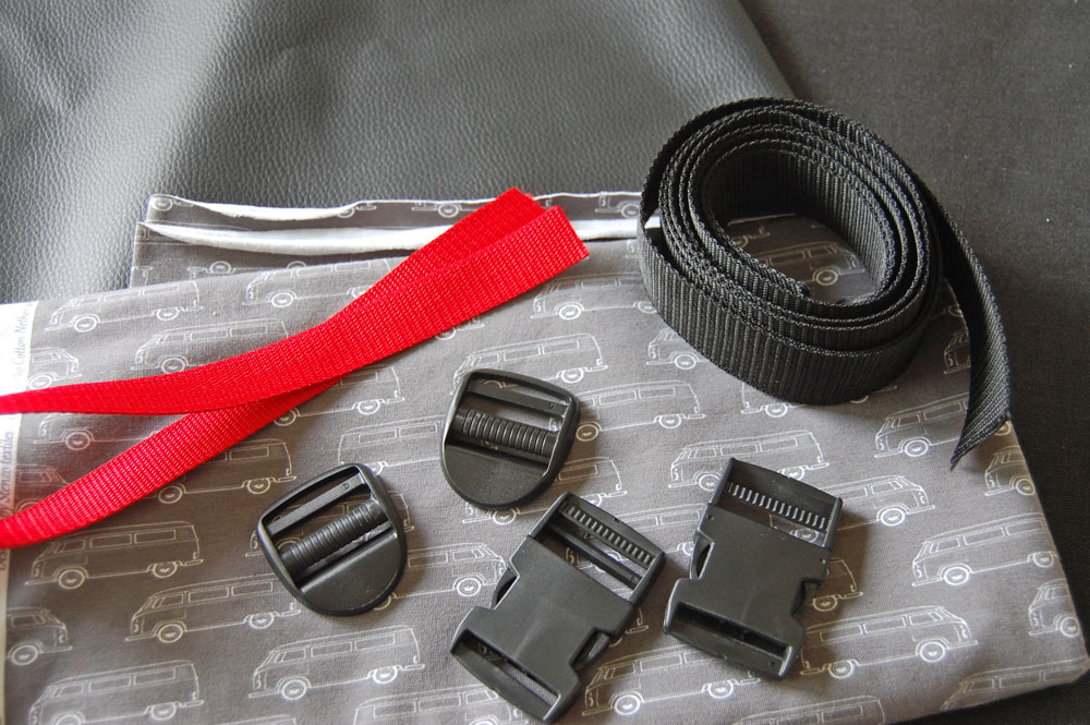 Rucksack nähen - Material