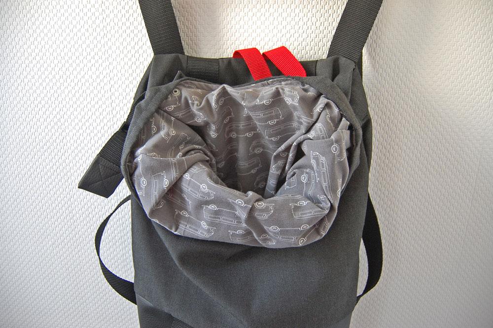 Rucksack nähen - Innenfutter rucksack nähen Rucksack nähen – Anleitung Schritt für Schritt