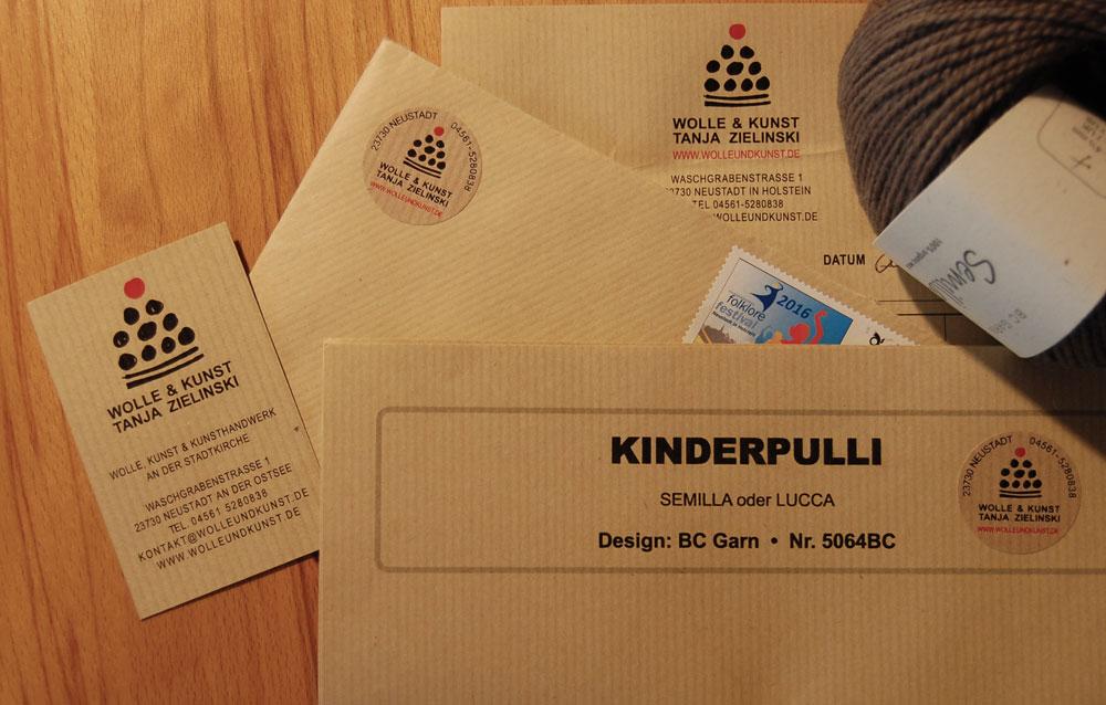Wolle & Kunst - Briefpapier