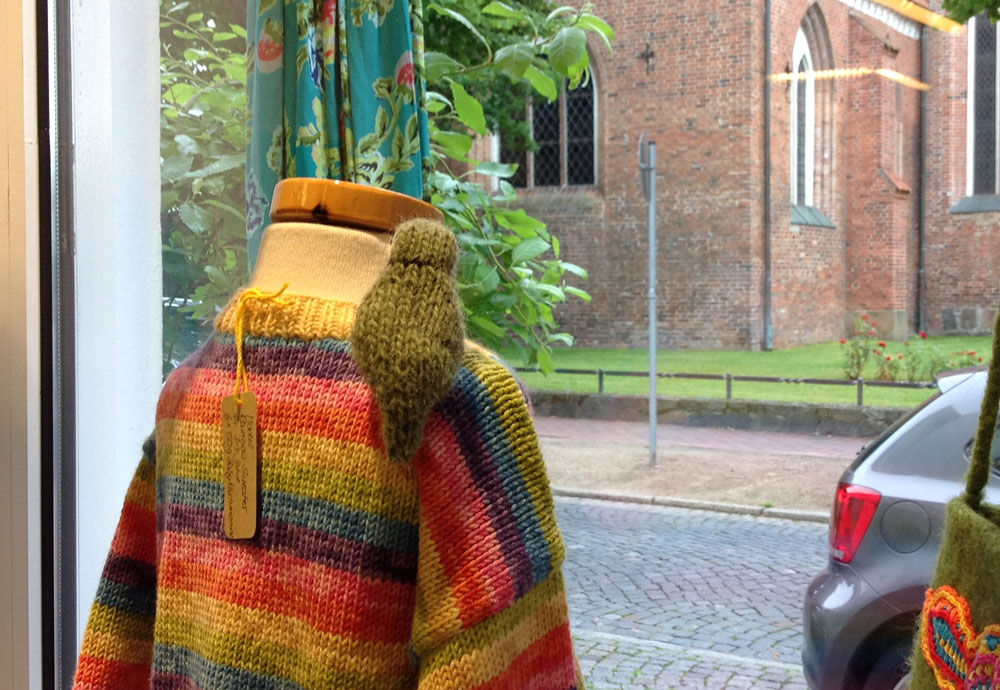 Wolle & Kunst - Schaufenster