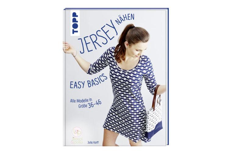 Jersey nähen Easy Basics Cover jersey nähen - easy basics Verlosung: Buch Jersey nähen – Easy Basics von Julia Korff