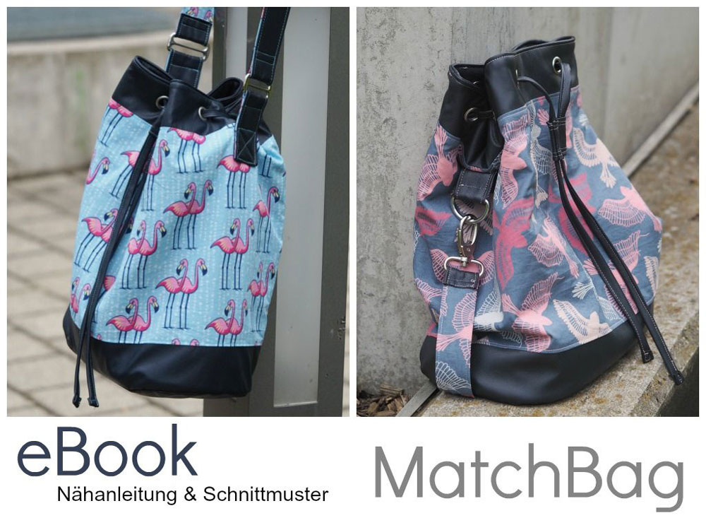 Verlosung - EBook MatchBag - Keko-Kreativ Verlosung: Taschen EBook MatchBag von Keko-Kreativ