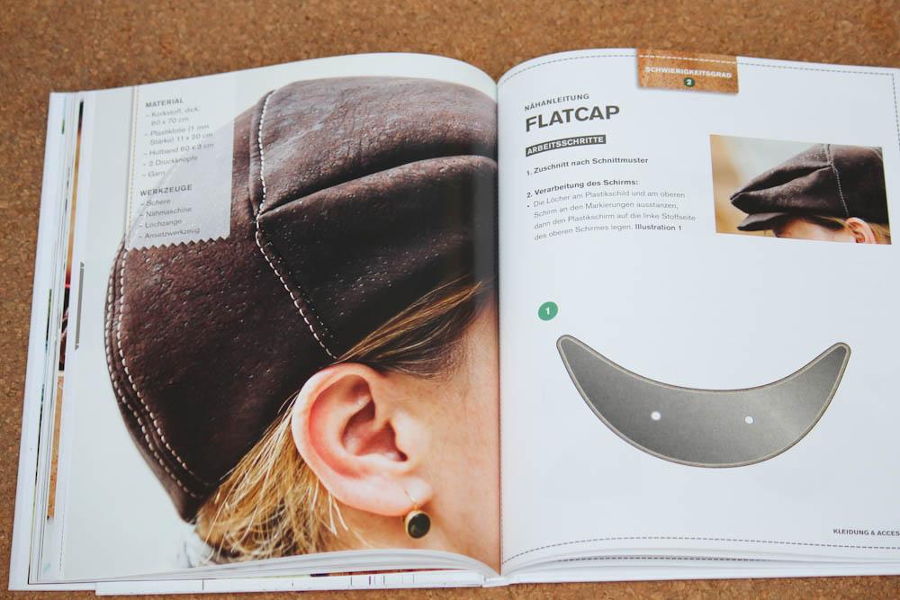 Nähen mit Kork - Flatcap nähen mit kork Verlosung: Buch Nähen mit Kork von Carmo da Silva