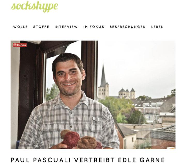 sockshype wird 5 Jahre alt - Beitrag zu Paul Pascuali sockshype sockshype wird 5 Jahre alt