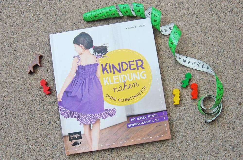Buchbesprechung + Verlosung - Kinderkleidung nähen ohne Schnittmuster