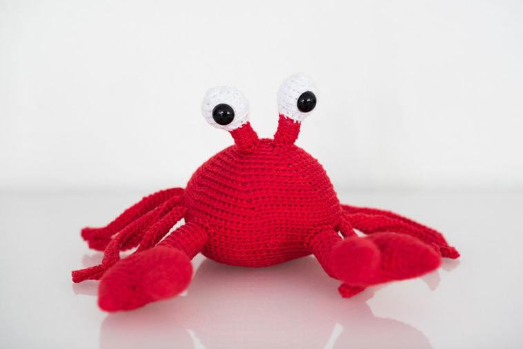 StrickCookie - Krabbe Carlos Verlosung: Carlos, die süße Krabbe von StrickCookie
