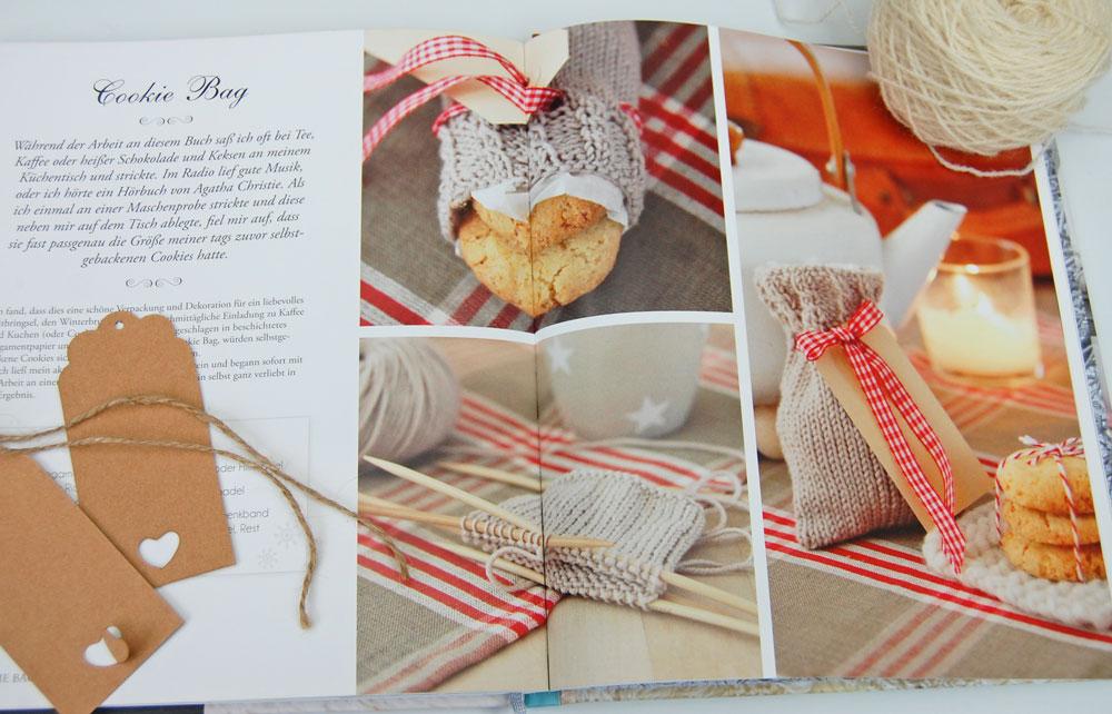 Wintertraum & Strickzauber - Cookie Bag Buchbesprechung: Buch Wintertraum & Strickzauber von epipa