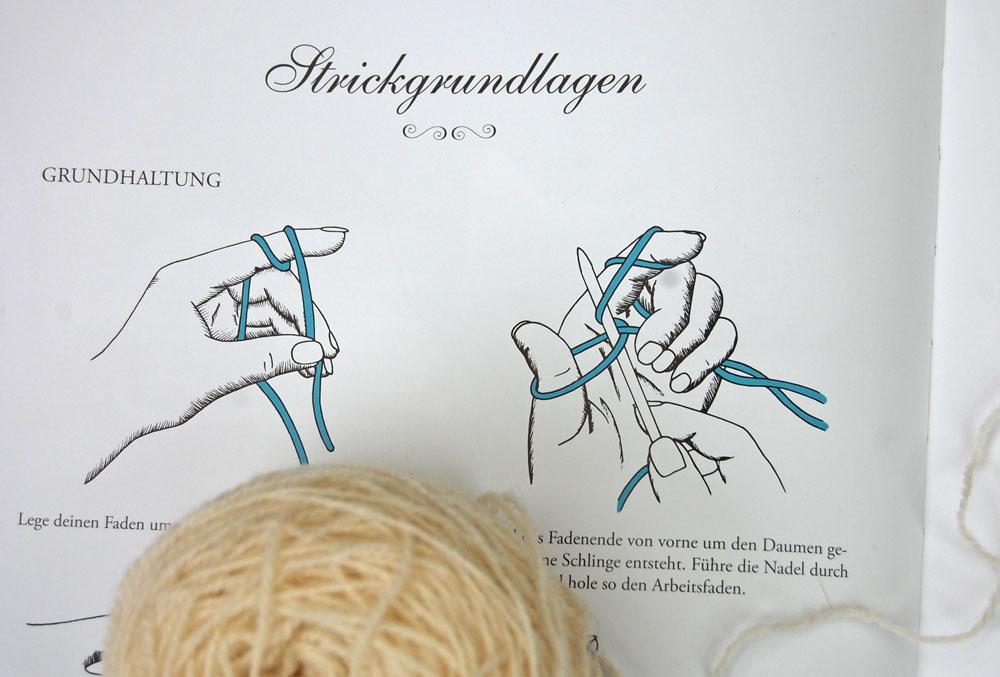 Wintertraum & Strickzauber - Strickgrundlagen Buchbesprechung: Buch Wintertraum & Strickzauber von epipa