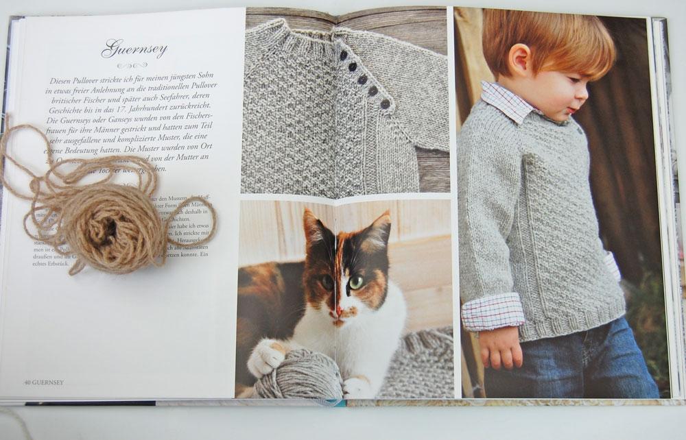 Wintertraum & Strickzauber - Guernsey Kinderpullover Buchbesprechung: Buch Wintertraum & Strickzauber von epipa