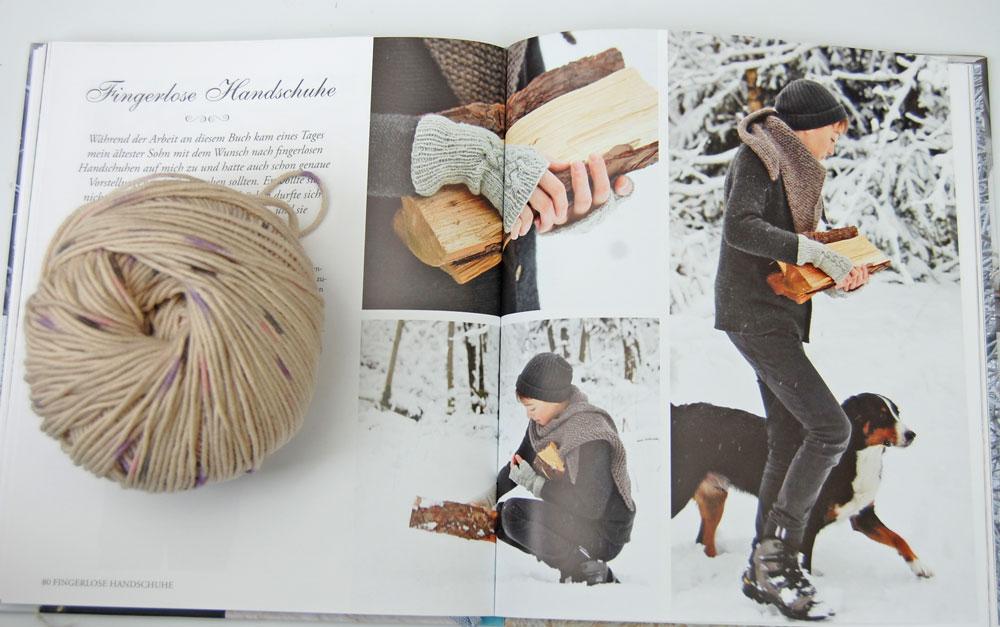 Wintertraum & Strickzauber - Handstulpen Buchbesprechung: Buch Wintertraum & Strickzauber von epipa