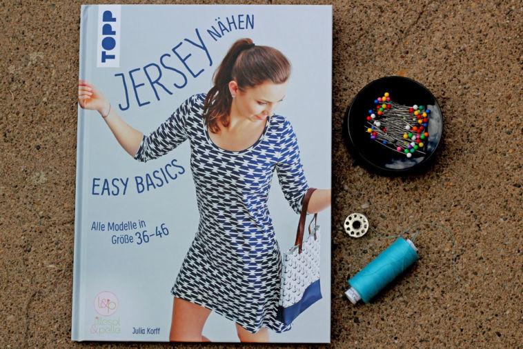 Buchbesprechung - Jersey nähen von Julia Korff jersey nähen Buchbesprechung – Jersey nähen – Easy Basics von Julia Korff