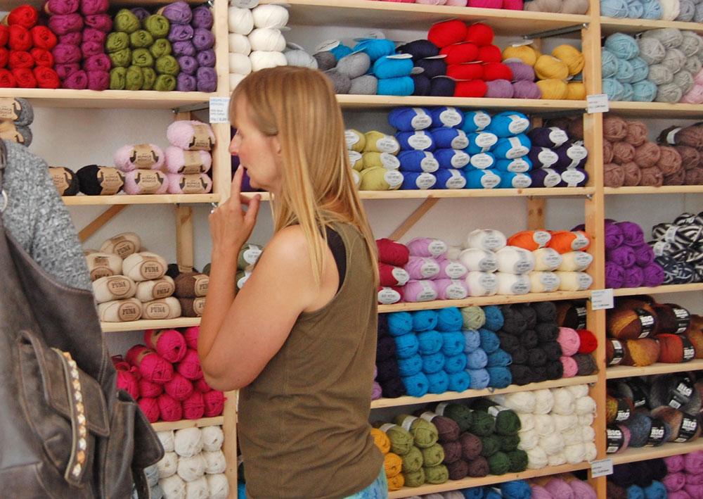 Garn Store - Beratung Anja Diewald vom Garn Store im Interview