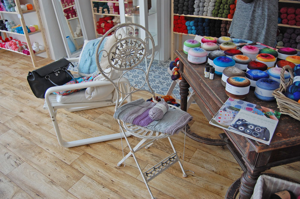 Garn Store - Dekoration Anja Diewald vom Garn Store im Interview